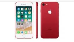 Limited Edition - IPhone 7 128Gb 4G Red Zero Novo Com Garantia Apple de 1 Ano