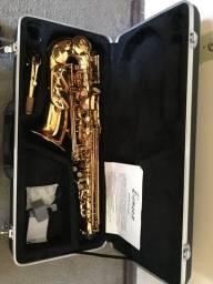 Sax alto muito novo