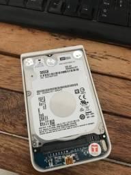 HD notebook 500GB + case