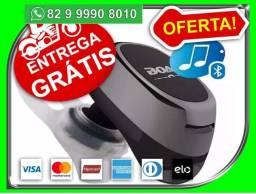 Mini Fone Ouvido Bluetooth Universal Micro Menor sem custo de motoboy