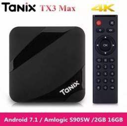 TV box / Tanix Max TX3 2gb de RAMe 16 de Rom