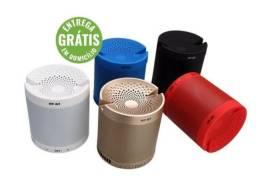 Caixa de som q3 bluetooth fm aux pen drive cartao memoria - entrega grátis