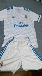 Camisa + Short Conjunto G Real Madrid