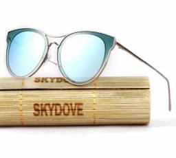 Óculos de Sol Feminino Skydove Gatinha