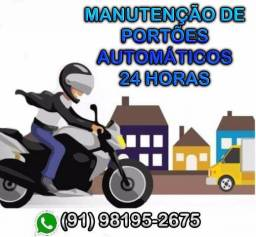 Consertos de Portão Eletrônico : (91) 98195-2675