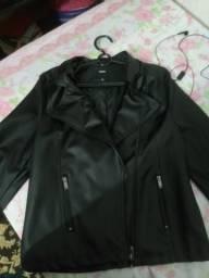 Jaqueta estilo motoqueiro
