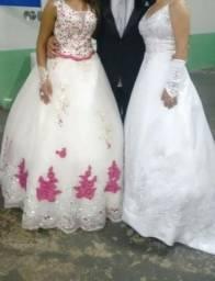 Vestidos de Noiva e madrinhas debutantes (Lote 9Peças)