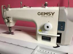 Máquina de costura industrial reta gemsy8950