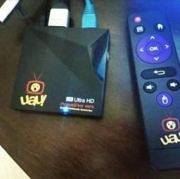 TV Box Aceito e Parcelo no Cartão
