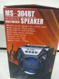 Caixinha de som MP3 via Bluetooth