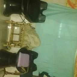 2 cadeira por 180 reais. Cascavel pra salão perfeita