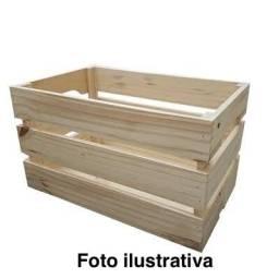 Caixote - Caixa de madeira