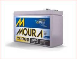 Bateria Selada Agm Moura 7ah 12v Brinquedo Nobreak em Palmas Tocantins