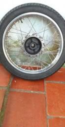 Roda traseira titan 150, barbada