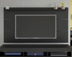 Painel Slim para TVs até 47' com suporte incluso - Entrega Grátis
