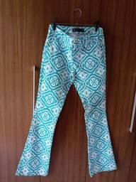 Calça pantalona 38