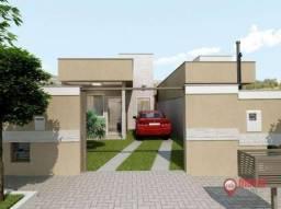 Casa com 2 dormitórios à venda, 60 m² por R$ 189.000,00 - Aeronautas - Lagoa Santa/MG