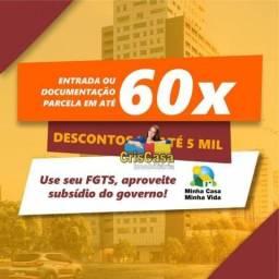 Apartamento com 2 dormitórios à venda, 50 m² por R$ 119.000,00 - Enseada das Gaivotas - Ri