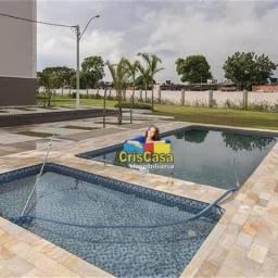Apartamento com 2 dormitórios à venda, 55 m² por R$ 120.000,00 - Jardim Mariléa - Rio das