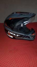 Vendo capacete helt original
