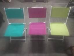 Cadeiras de Sorveteria Retrátil Semi Novas