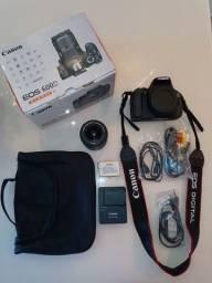 Câmera dslr T3i/EOS 600D Canon (3.112 Clicks)