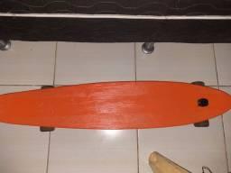 Vendo longboard com suporte pra gopro, em perfeitas condições por R$ 150