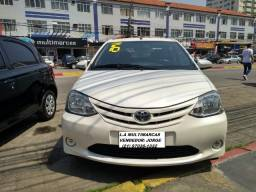 Toyota Etios X 1.5 completo 2016 _ entrada apartir de 7mil + fixas 565,00