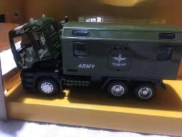 Miniatura Caminhão de Exército - Army