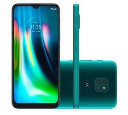 Smartphone Motorola XT2083-1 Moto G9 Play 64GB Verde Turquesa