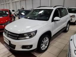 Ent. 50% + 48x 1.465,00 - VW Tiguan 1.4 TSI c/ teto 2017 - 65.000km