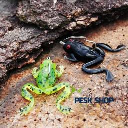 Isca Frog Black pearl