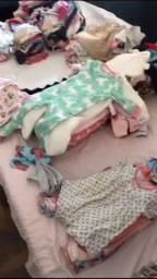 Vendo roupas menina 0-12meses importadas