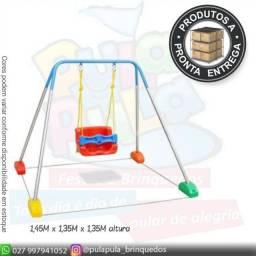 Venda de balanços com estrutura (produto de mostruário)