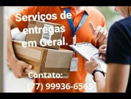 Serviços de entregas e coletas em Geral...