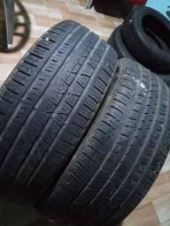02 pneu 225 65 17 de marcas diferentes, estão Extra, zap *