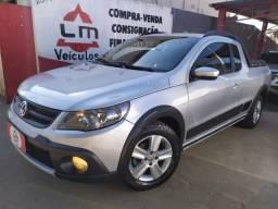 VW Saveiro Cross 1.6 10/11 Prata Completa