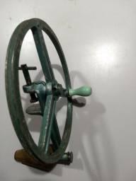 Antiga Máquina Manual Enrolador Enrolar Fios Lã Tricô Crochê