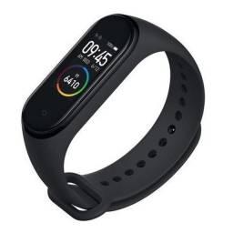 Pulseira Inteligente M4 Relógio Monitor Cardíaco Bluetooth