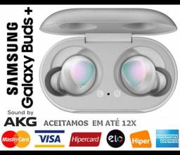 Headphone s/ Fio Samsung Galaxy Buds Plus AKG, Bluetooth, Novíss, Caixa, NF, Gar