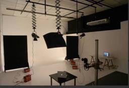 Iluminação móvel para estudio