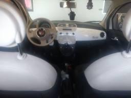 Fiat 500 cult  1.4 evo fire branco flex manual 2012/12/ 127670 km