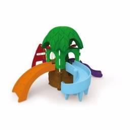 Playground Infantil Casa Na Árvore Brinquedo Festas Xalingo