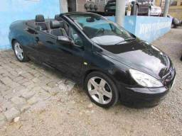 Peugeot 307 cabriolet 36x1849 sem entrada 2.0 aut completo 2005