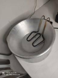 Fritadeira e liquidificador