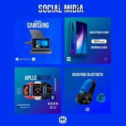 Social Media - Artes Para Post De Redes Sociais