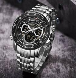 Relógio Naviforce NF9189 Original / Aço inoxidável
