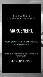 CONTRATA-SE MARCENEIRO COM EXPERIÊNCIA