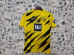 Camisa Borussia Dortmund Uniforme I 2020 2021