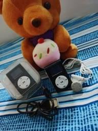 Mini MP3 Player com tela Lcd